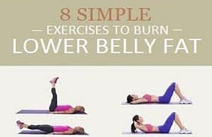 8 Simple Exercises to Burn Lower Belly Fat