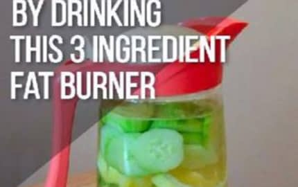 Drink These Three Ingredient Fat Burners